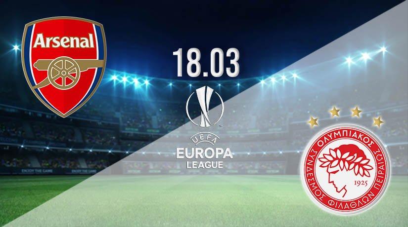 Arsenal vs Olympiakos Prediction: Europa League Match on 18.03.2021