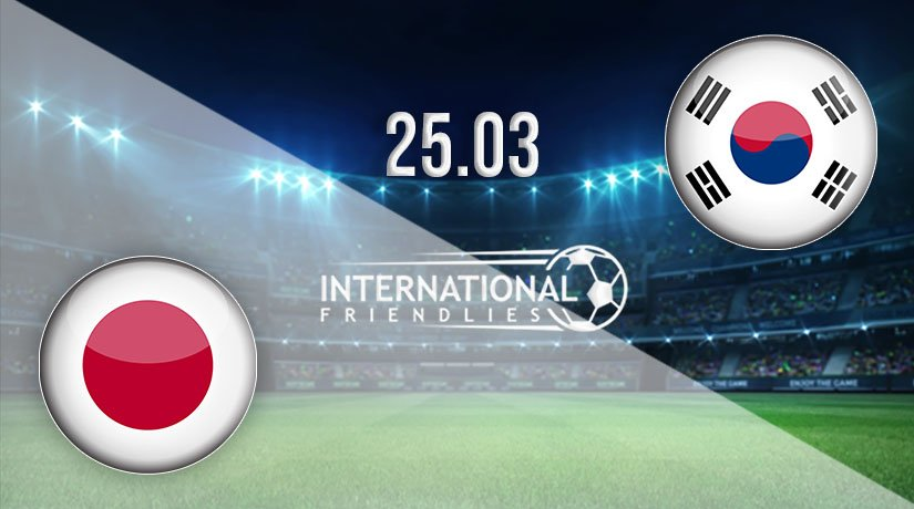 Japan vs South Korea Prediction: International Friendlies Match on 25.03.2021