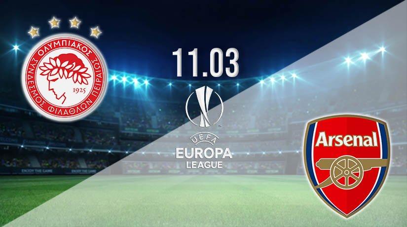 Olympiakos vs Arsenal Prediction: Europa League Match on 11.03.2021