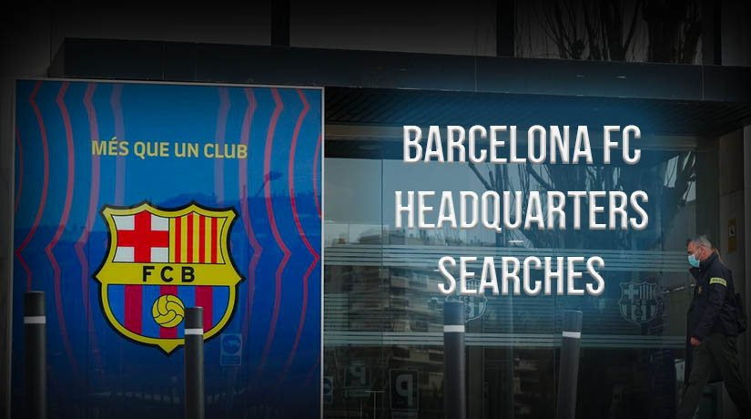 Barcelona FC has issued a statement on the situation with the searches in the headquarters of the club