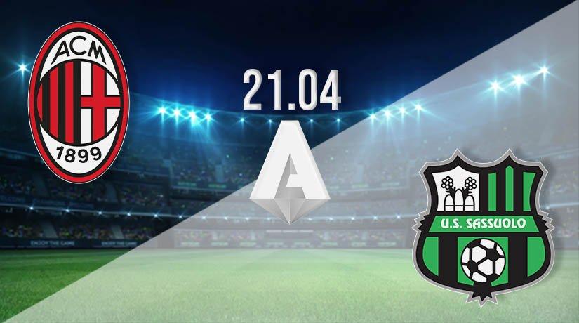 AC Milan vs Sassuolo Prediction: Serie A Match on 21.04.2021