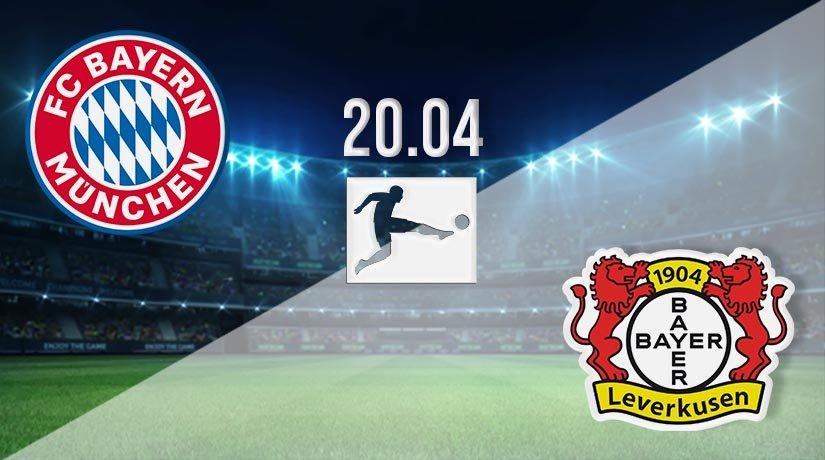 Bayern Munich vs Bayer Leverkusen Prediction: Bundesliga Match on 20.04.2021
