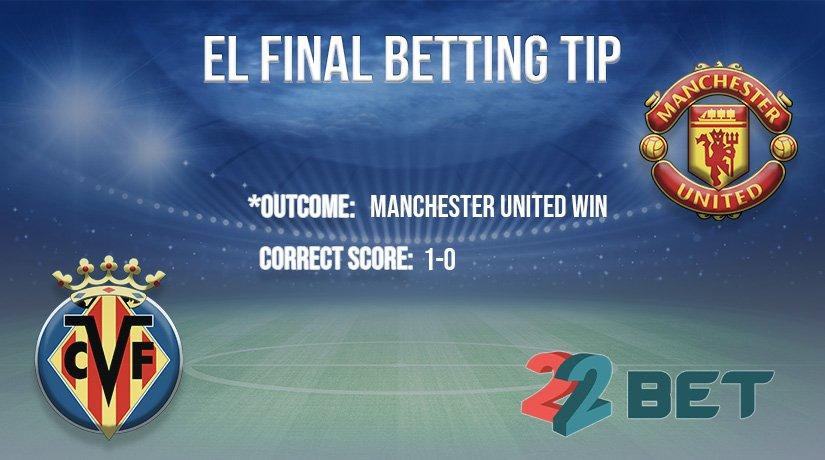 Europa League 2021 Final betting tip