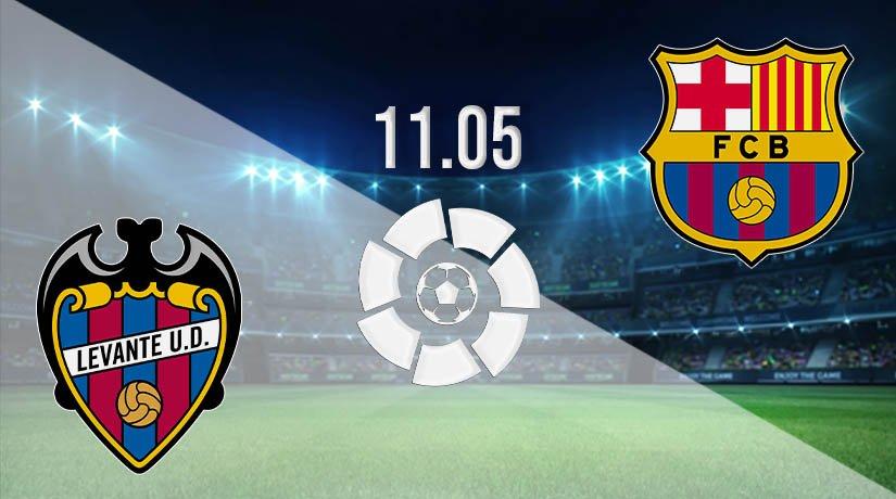 Levante vs Barcelona Prediction: La Liga Match on 11.05.2021