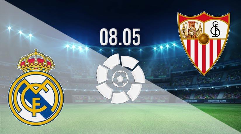 Real Madrid vs Sevilla Prediction: La Liga Match on 08.05.2021
