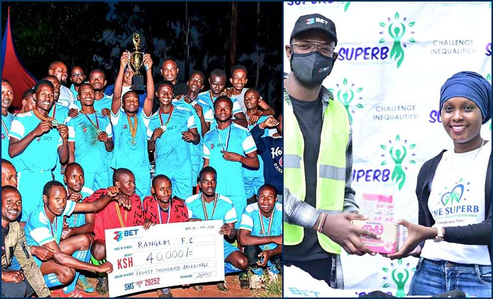 22Bet Gives a Helping Hand to Kenyan Football & Superb CBO