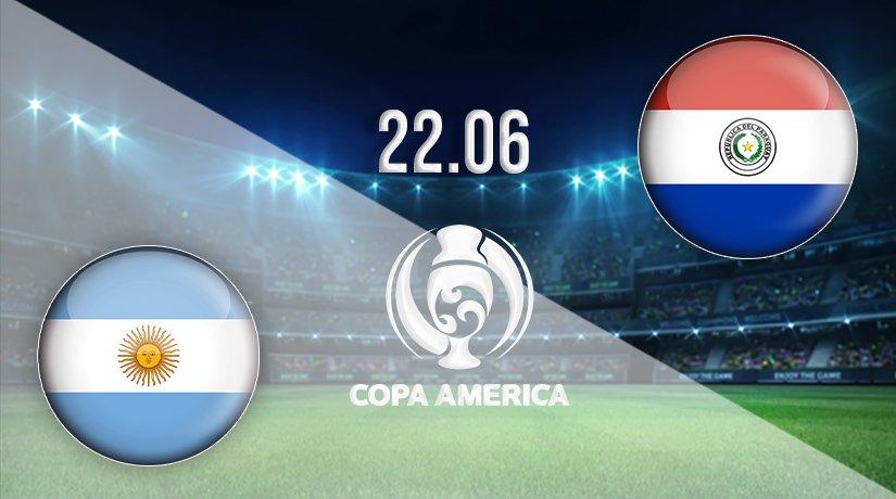 Argentina vs Paraguay Prediction: Copa America Match on 22.06.2021