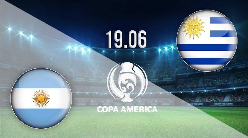 Argentina vs Uruguay Prediction: Copa America Match on 19.06.2021