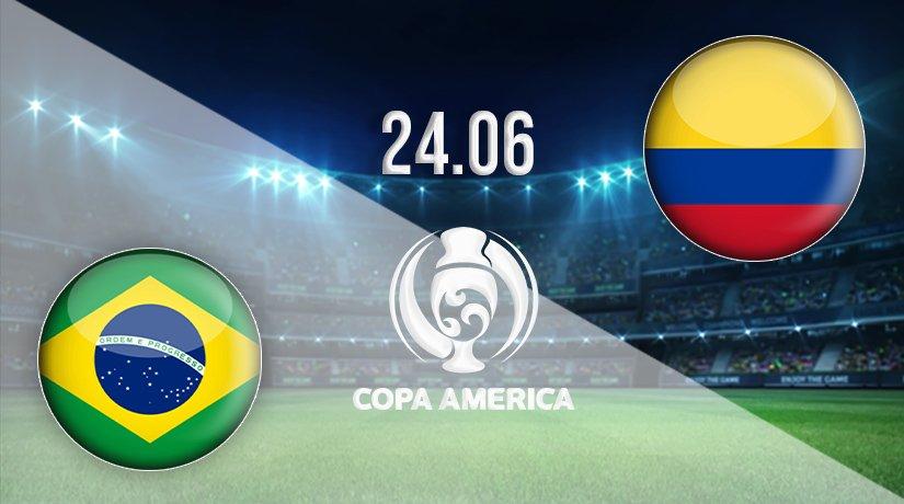 Brazil vs Colombia Prediction: Copa America Match on 24.06.2021