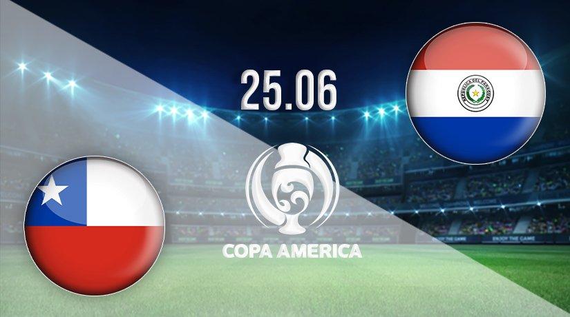 Chile vs Paraguay Prediction: Copa America Match on 25.06.2021