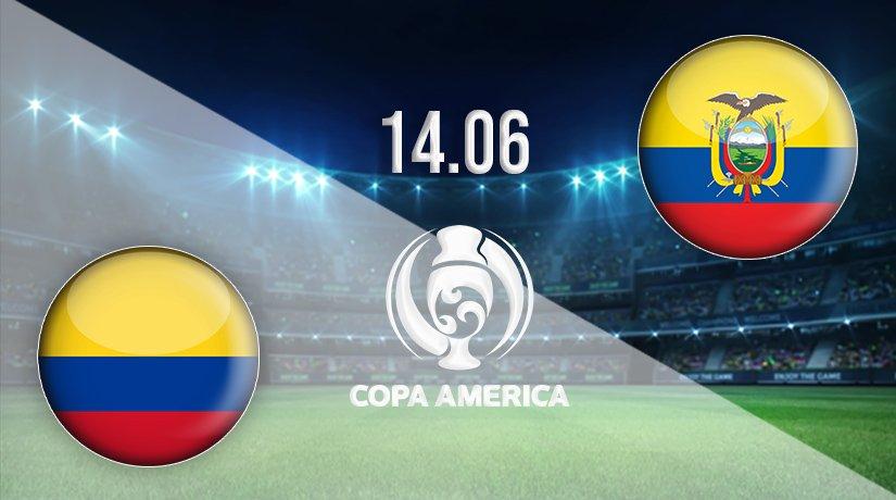 Colombia vs Ecuador Prediction: Copa America Match on 14.06.2021