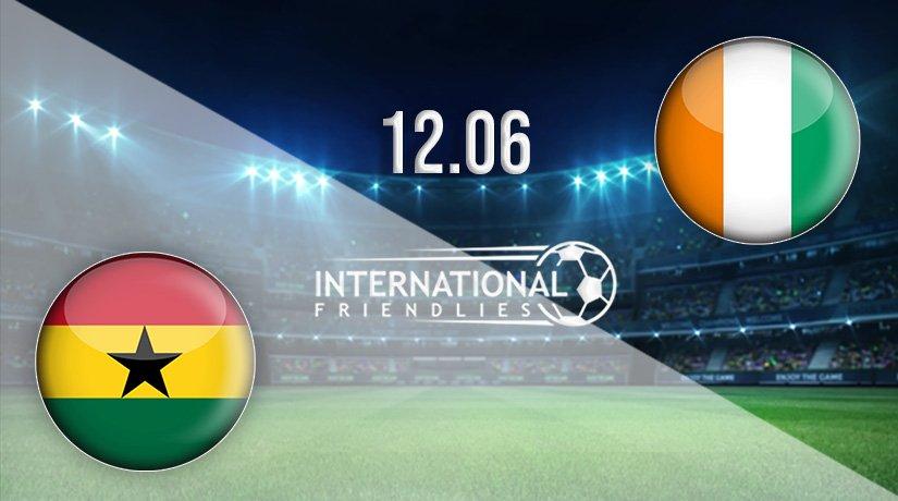 Ghana vs Ivory Coast Prediction: International Friendlies Match on 12.06.2021