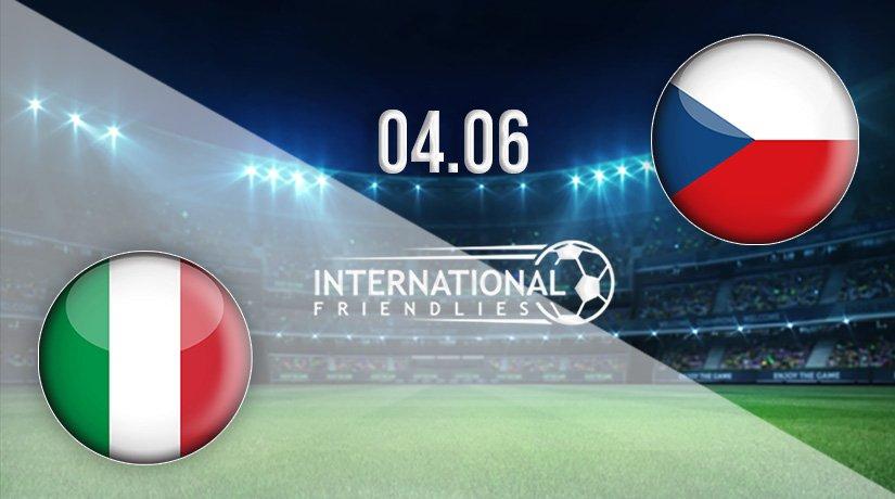 Italy vs Czech Republic Prediction: International Friendlies Match on 04.06.2021