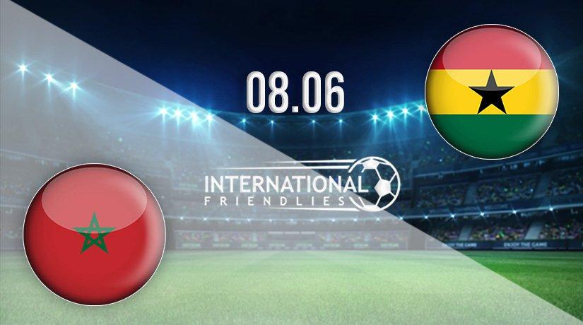 Morocco vs Ghana Prediction: International Friendlies Match on 08.06.2021