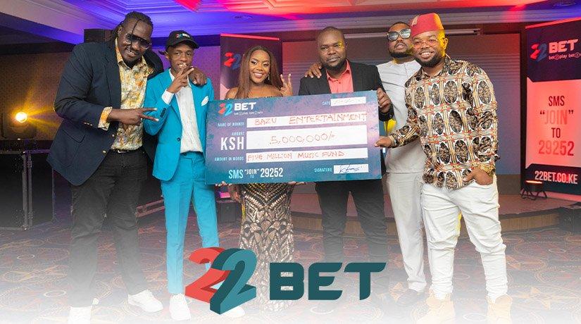 22Bet Creates KSh 5,000,000 Music Fund to Help Kenyan Artists