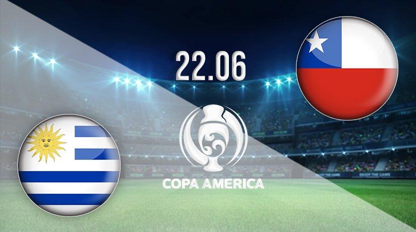 Uruguay vs Chile Prediction: Copa America Match on 22.06.2021