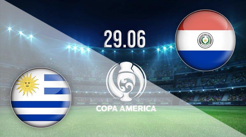 Uruguay vs Paraguay Prediction: Copa America Match on 29.06.2021