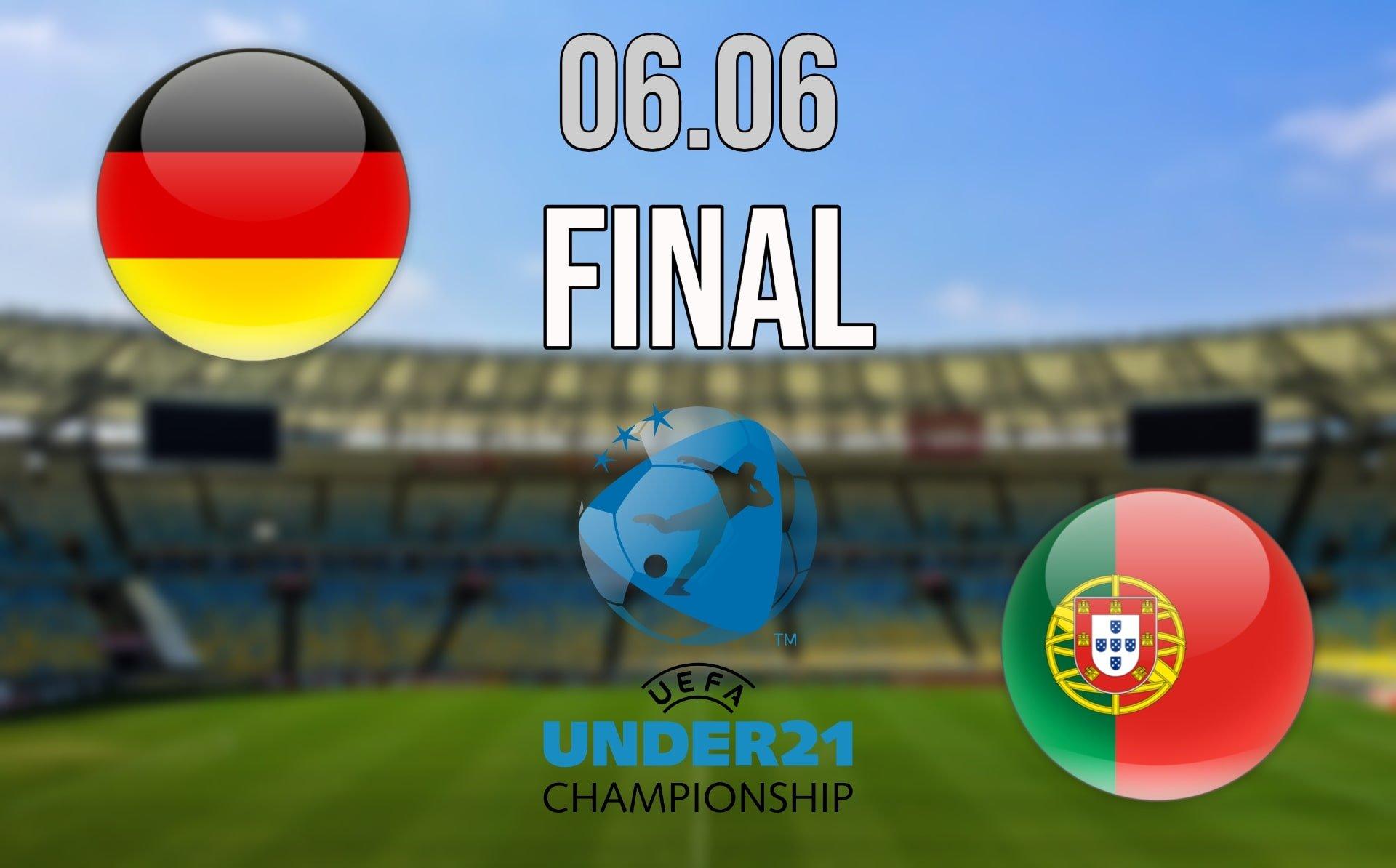 EURO U21 Final Prediction: Germany vs Portugal Match on 06.06.2021