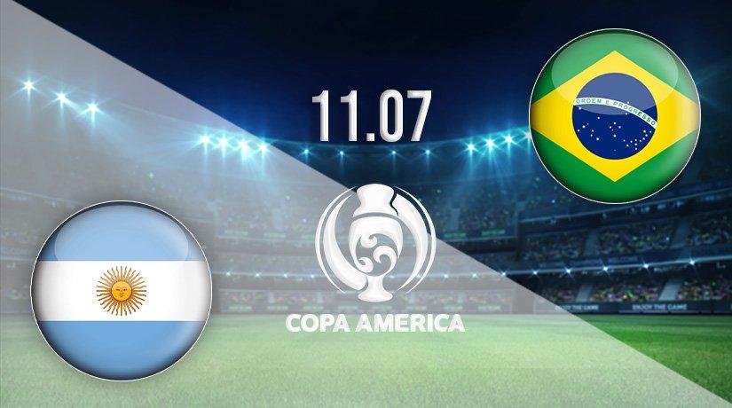 Argentina v Brazil Prediction: Copa America Final on 11.07.2021