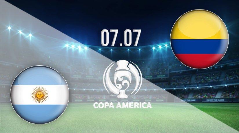 Argentina vs Colombia Prediction: Copa America Match on 07.07.2021