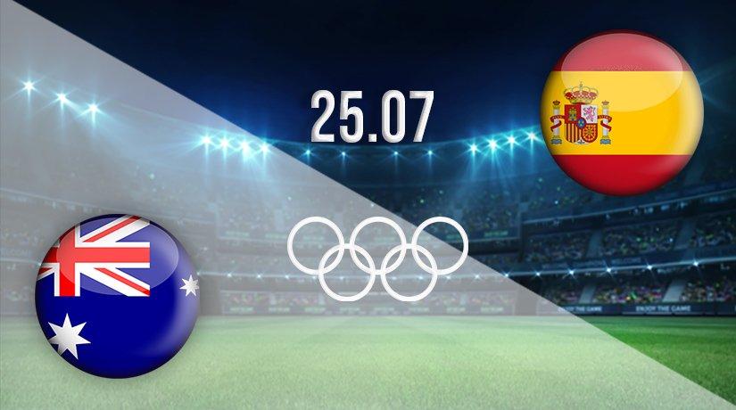 Australia vs Spain Prediction: Olympic Games Match on 25.07.2021