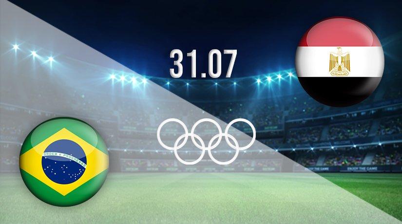Brazil v Egypt Prediction: Tokyo 2020 Match on 31.07.2021