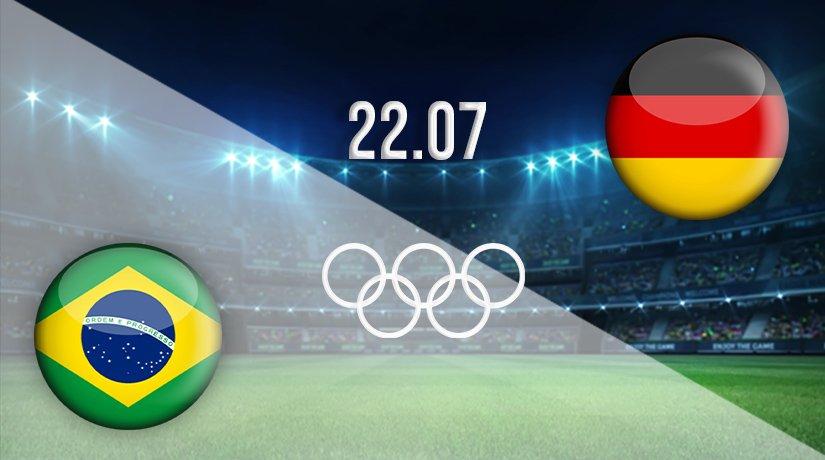 Brazil v Germany Prediction: Olympic Games Match on 22.07.2021