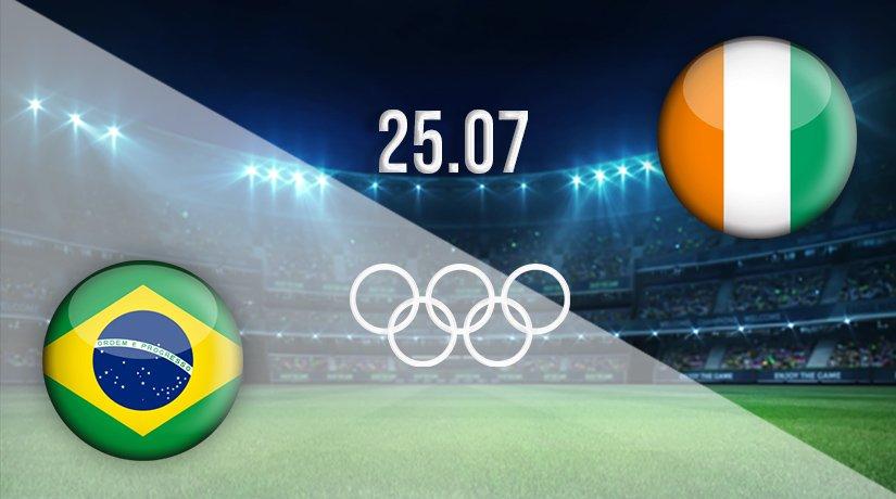 Brazil v Ivory Coast Prediction: Olympic Games Match on 25.07.2021