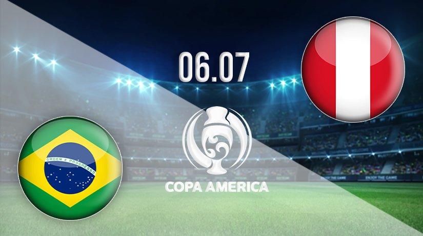 Brazil vs Peru Prediction: Copa America Match on 06.07.2021