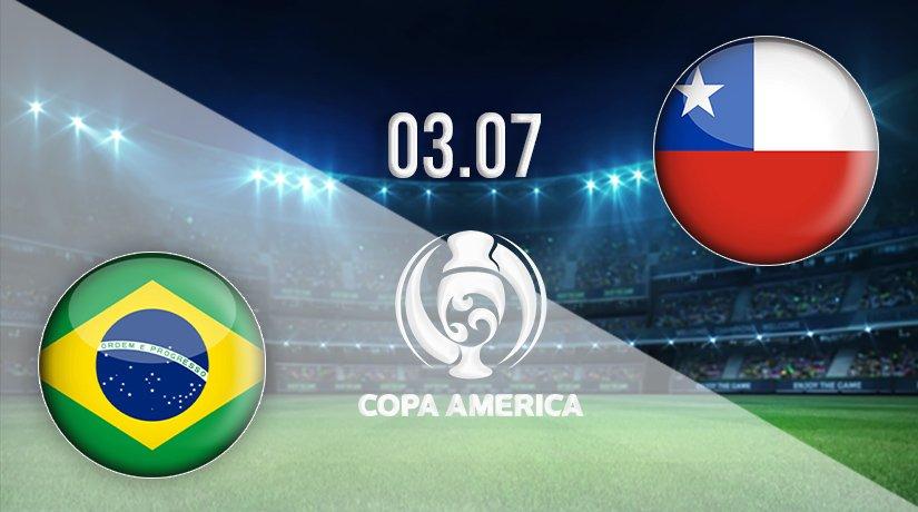 Brazil vs Chile Prediction: Copa America Match on 03.07.2021
