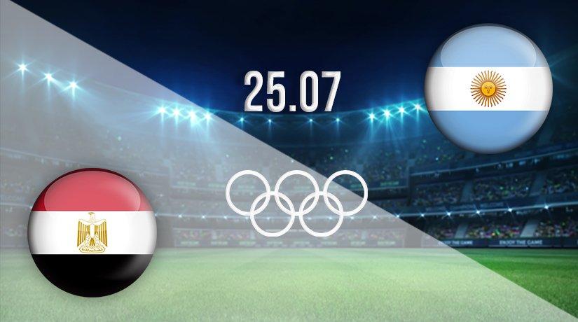 Egypt v Argentina Prediction: Olympic Games Match on 25.07.2021