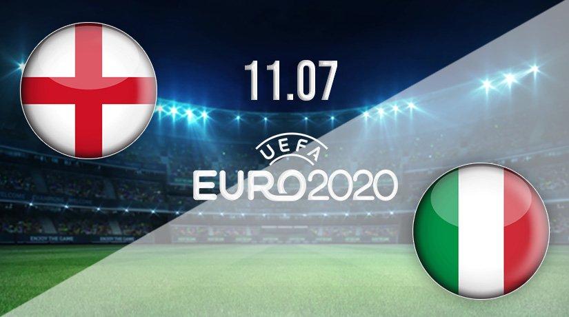 England v Italy Prediction: Euro 2020 Final on 11.07.2021