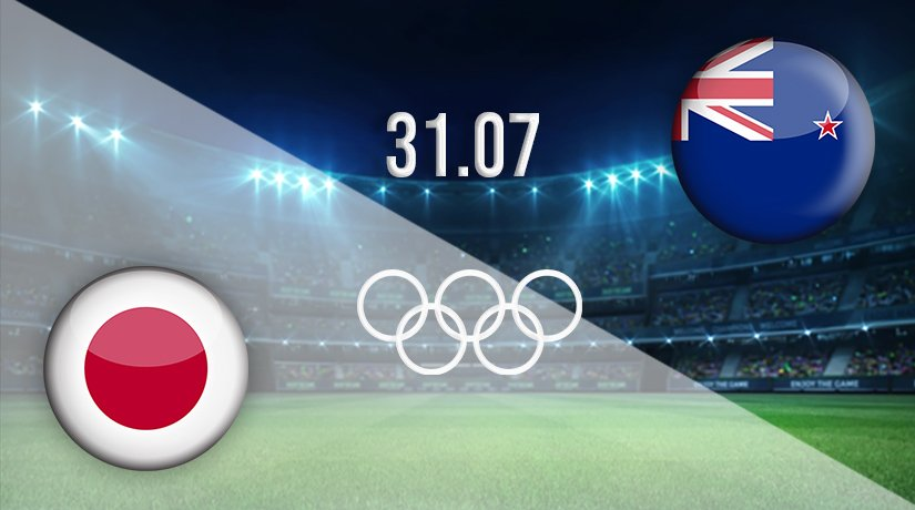Japan vs New Zealand Prediction: Olympic Games Match on 31.07.2021