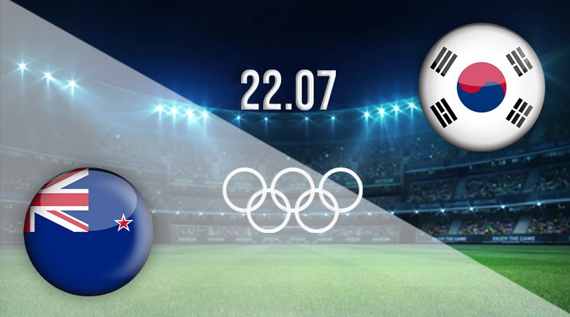 New Zealand vs South Korea Prediction: Olympic Games Match on 22.07.2021