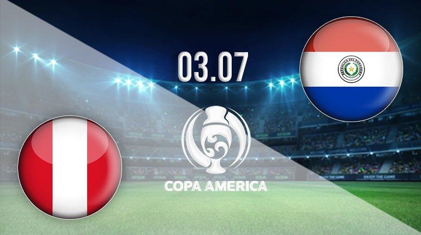 Peru vs Paraguay Prediction: Copa America Match on 03.07.2021