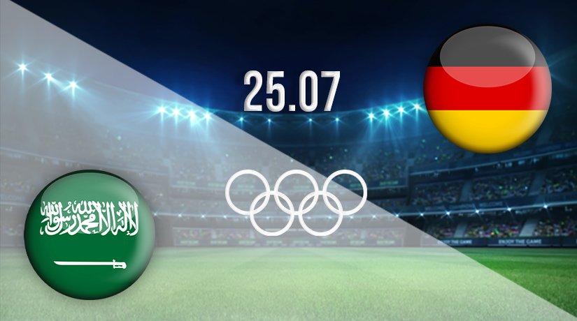 Saudi Arabia v Germany Prediction: Olympic Games Match on 25.07.2021