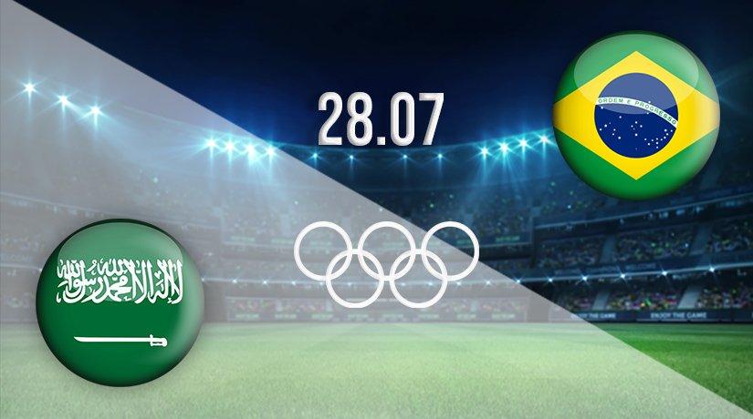 Saudi Arabia vs Brazil Prediction: Olympic Games Match on 28.07.2021