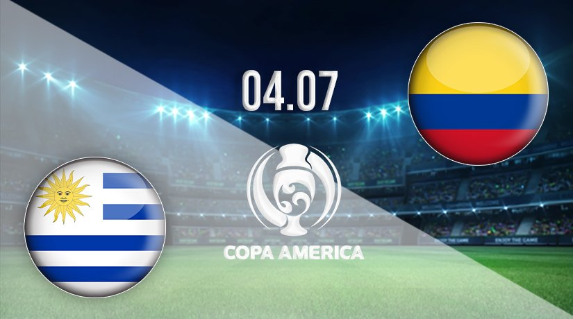 Uruguay vs Colombia Prediction: Copa America Match on 04.07.2021