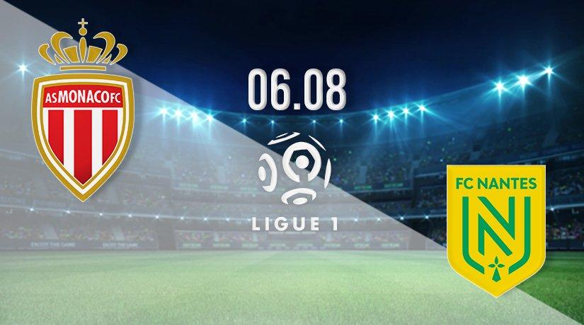 AS Monaco vs Nantes Prediction: Ligue 1 Match on 06.08.2021