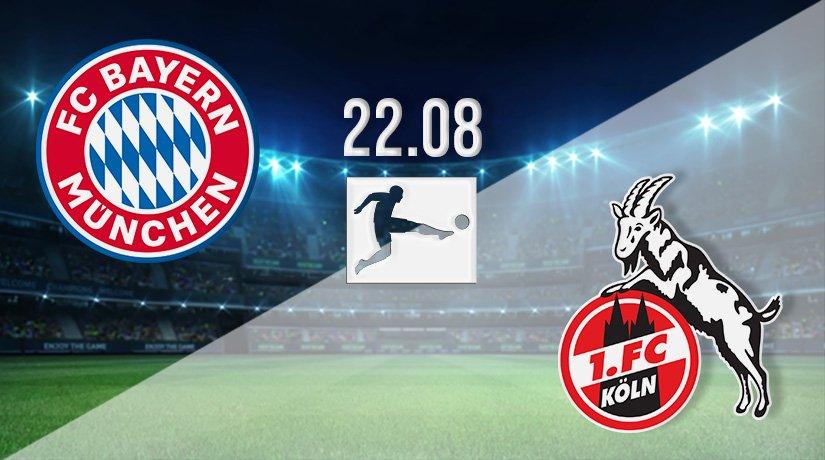 Bayern Munich vs FC Köln Prediction: Bundesliga Match on 22.08.2021
