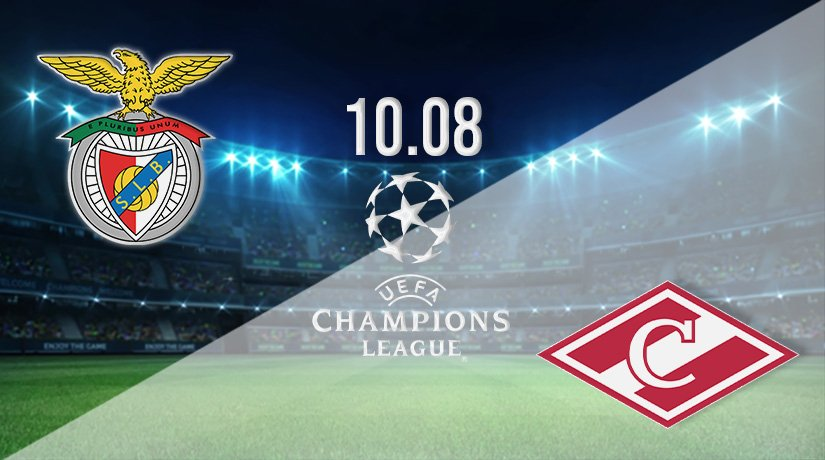 Benfica vs Spartak Moscow Prediction: Champions League Third Qualifying Round on 10.08.2021