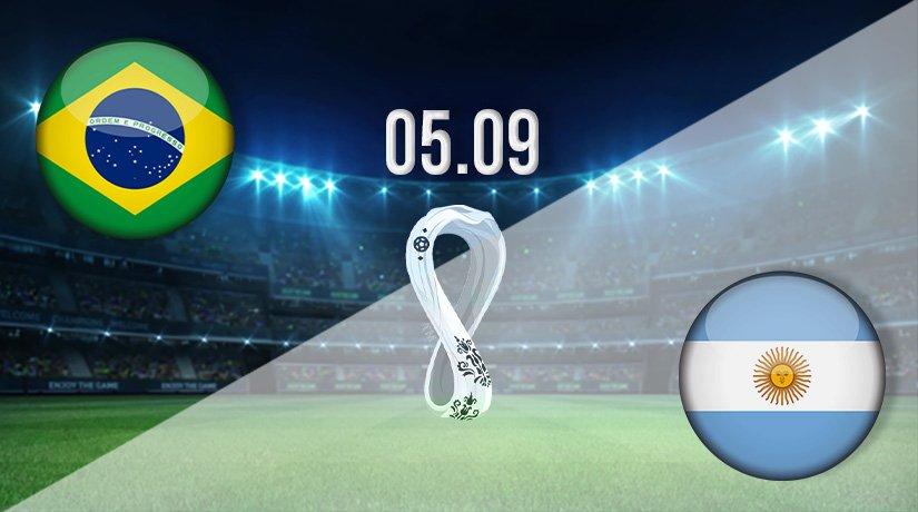 Brazil v Argentina Prediction: World Cup Qualifying Match on 05.09.2021