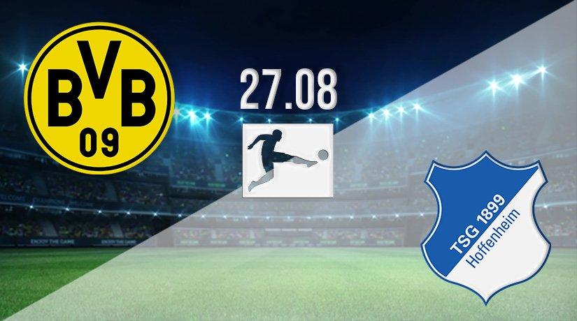 Borussia Dortmund vs Hoffenheim Prediction: Bundesliga Match on 27.08.2021