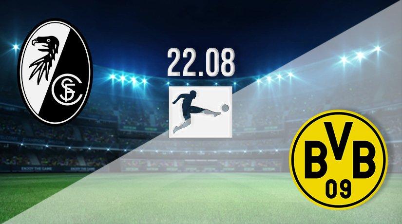 Freiburg v Borussia Dortmund Prediction: Bundesliga Match on 22.08.2021