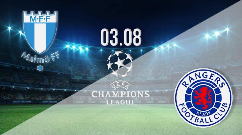 Malmo vs Rangers Prediction: Champions League Third Qualifying Round on 03.08.2021