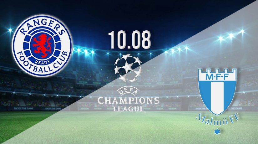 Rangers vs Malmo Prediction: Champions League Third Qualifying Round on 10.08.2021