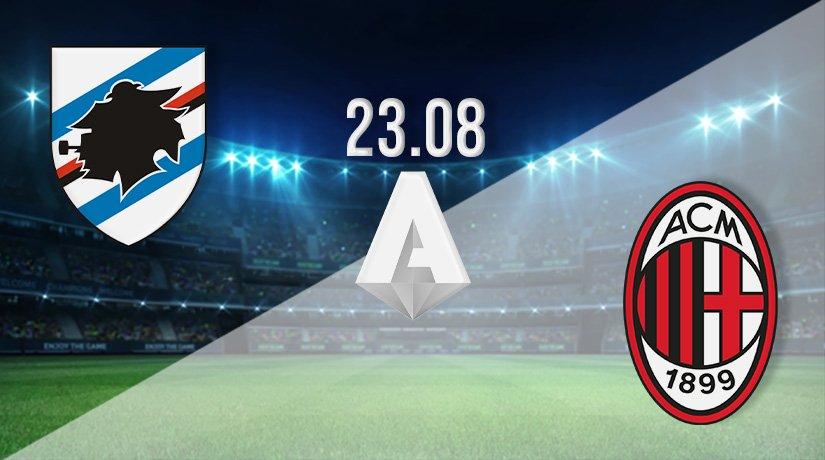 Sampdoria vs AC Milan Prediction: Serie A Match on 23.08.2021