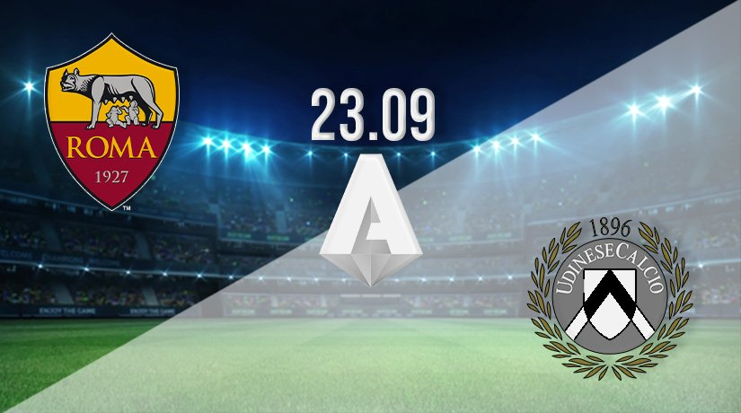 AS Roma vs Udinese Prediction: Serie A Match on 23.09.2021