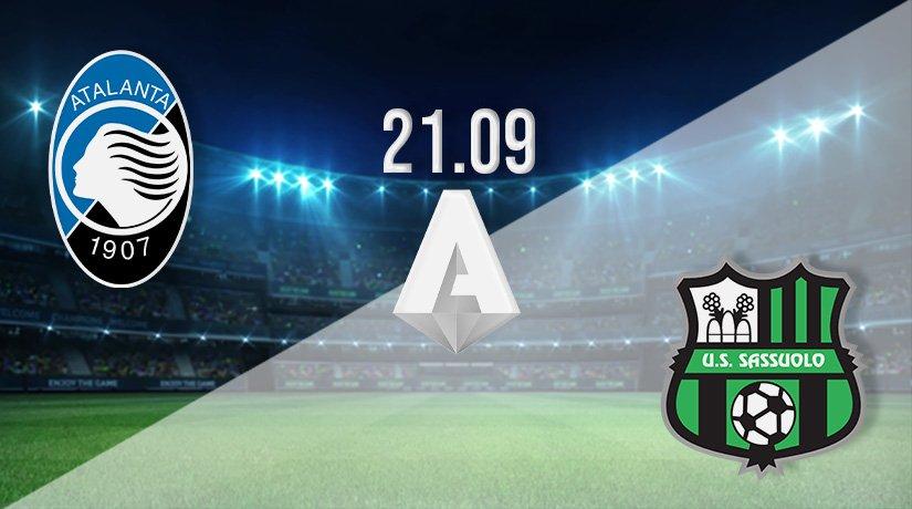 Atalanta vs Sassuolo Prediction: Serie A Match on 21.09.2021