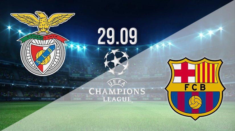 Benfica vs Barcelona Prediction: Champions League Match on 29.09.2021
